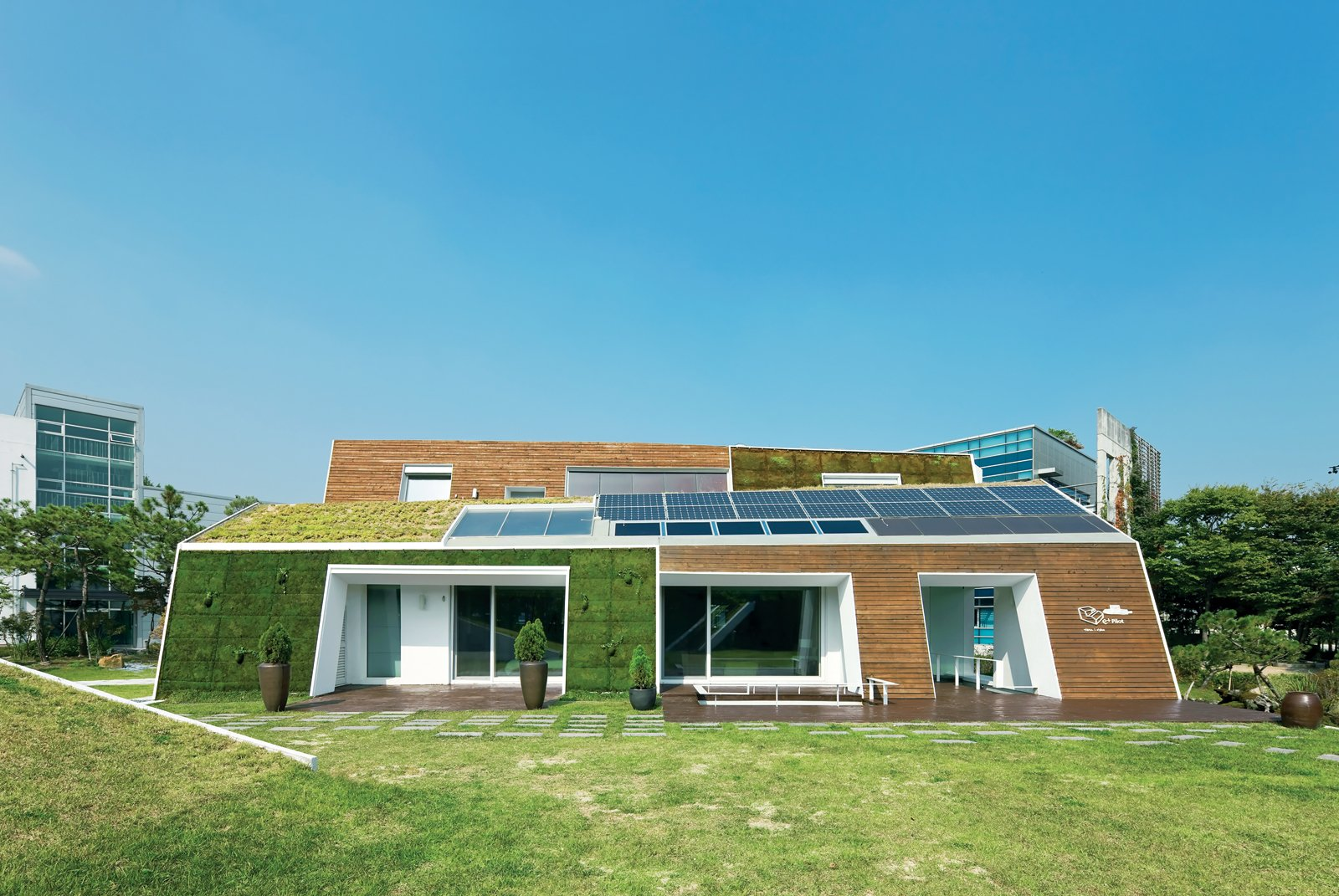 """Hàn Quốc giảm khí thải bằng chiến dịch """"Ngôi nhà xanh""""."""