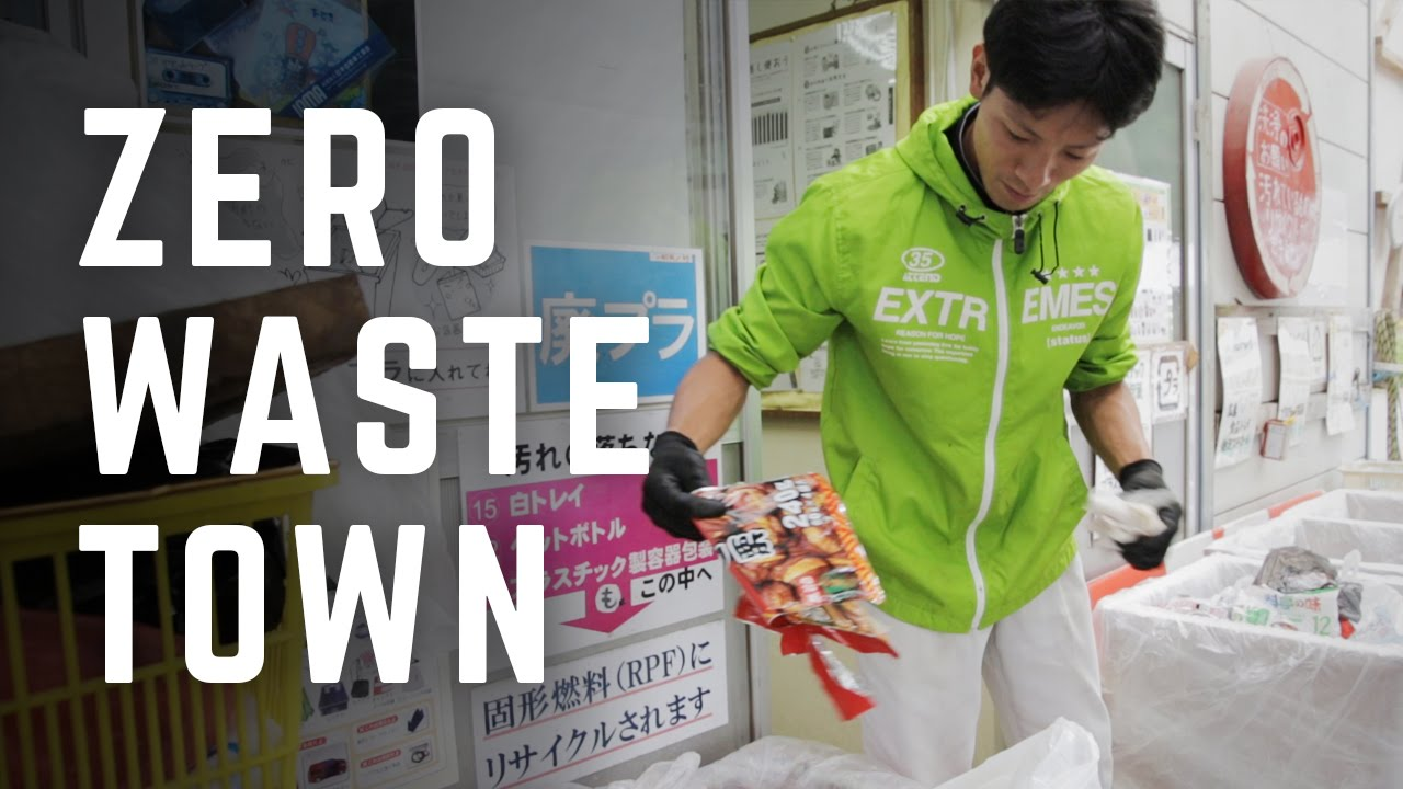Dự án thị trấn không rác tại Kamikatsu, Nhật Bản.