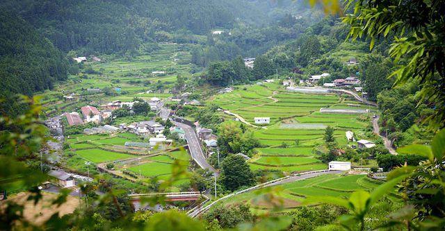 Thị trấn xanh Kamikatsu không rác thải ở Nhật Bản.