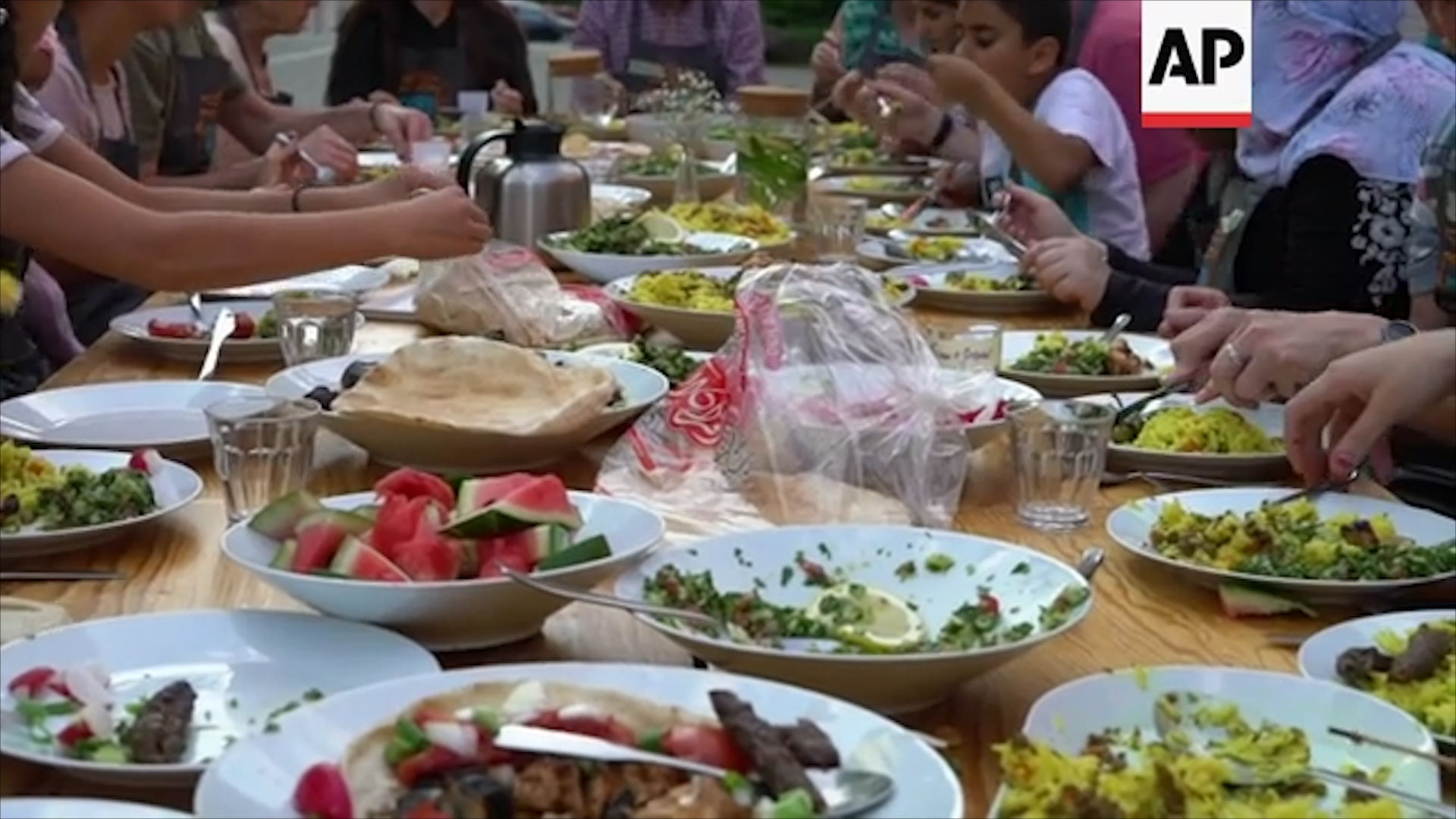 Rất nhiều người Đức không hề biết tới ẩm thực của người Syria.