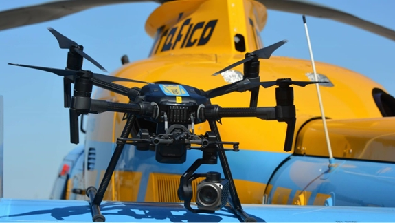 Dự kiến, lực lượng chức năng Tây Ban Nha sẽ huy động thêm 20 máy bay không người lái hỗ trợ xử phạt vi phạm giao thông.