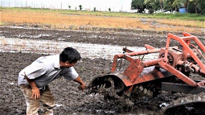 Máy có thể xới đất nhuyễn theo ý muốn.