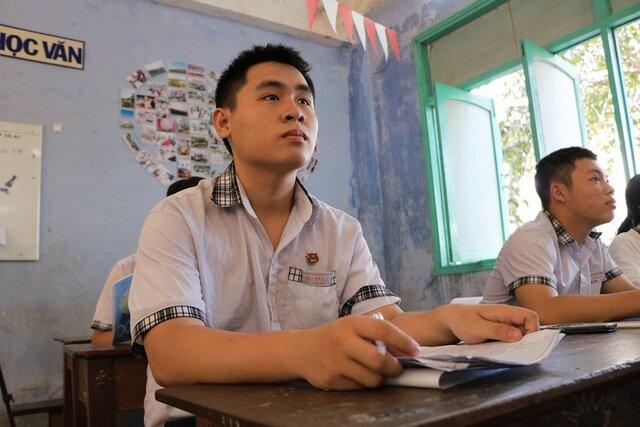 Em Nguyễn Thiện Luận thích làm bác sĩ nhưng cũng rất đam mê khoa học kỹ thuật.