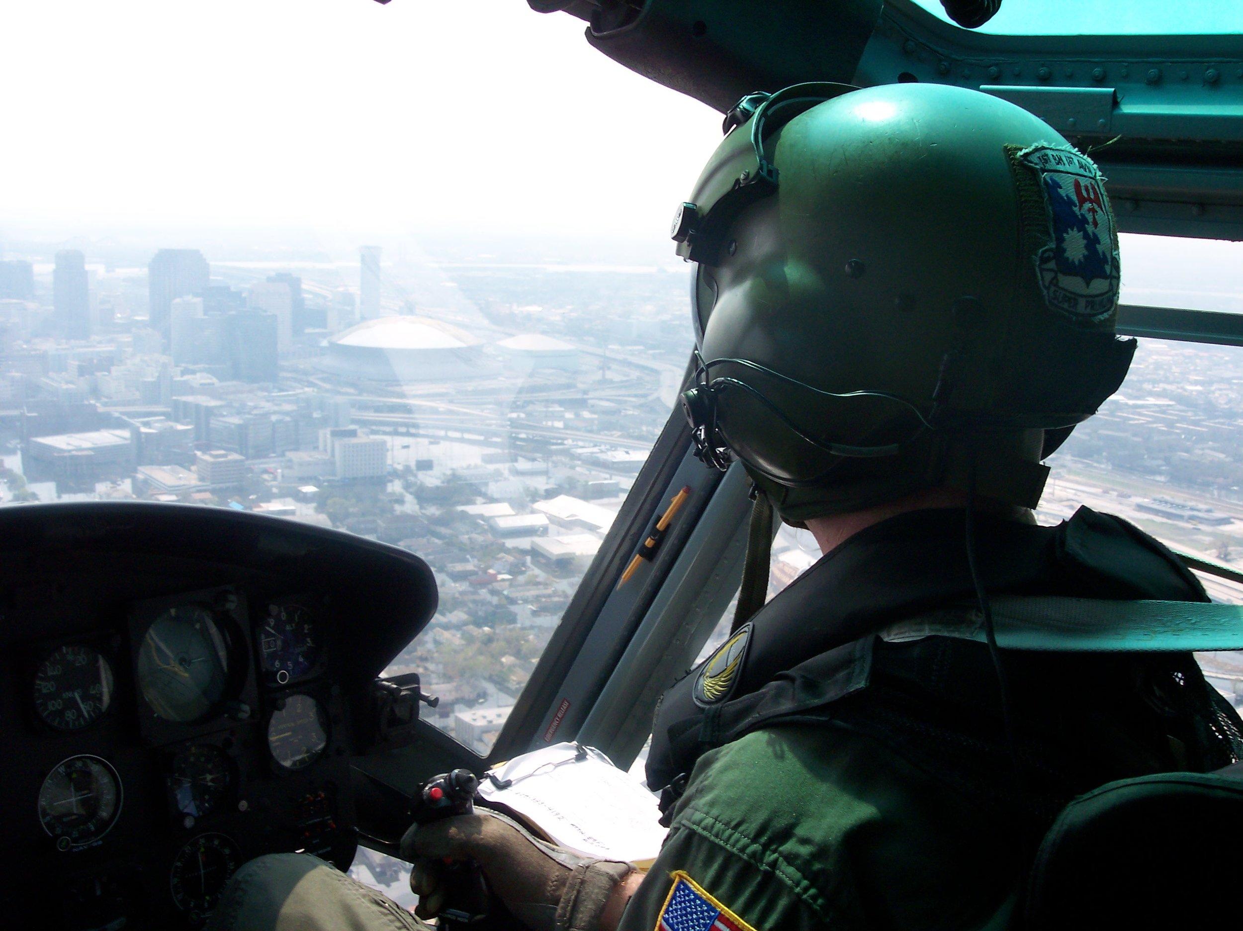 Hurricane Katrina rescue mission