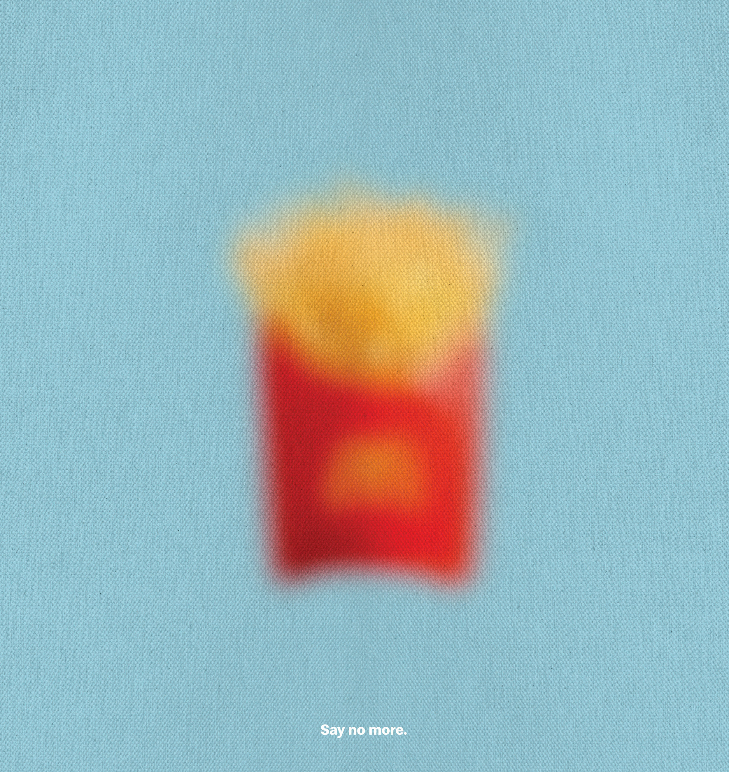 Blurred Icons - Say No More-Fries Print.jpg