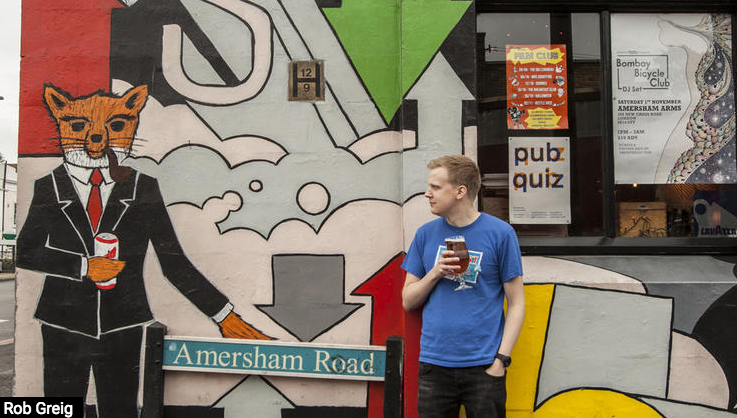 Read about The Amersham Arms on Time Out