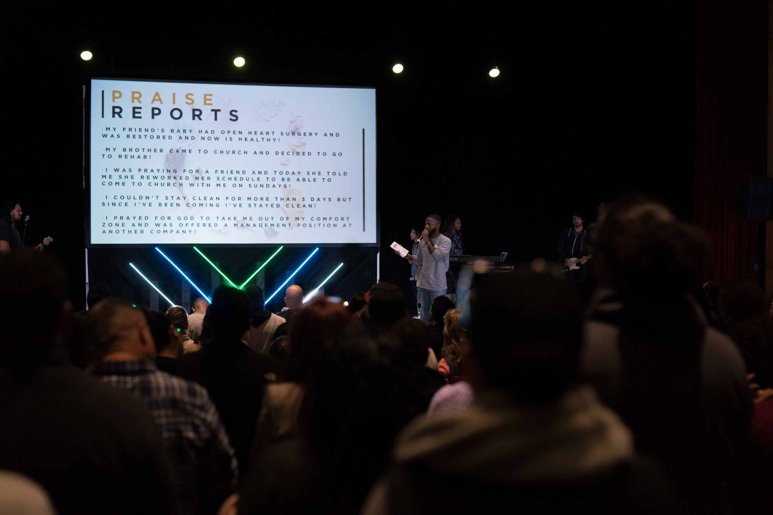 Praise Reports - If you have already received a victory, be sure to fill out a Praise Report so we can celebrate all that God is doing in your life. We LOVE to hear what God is up to in our community!