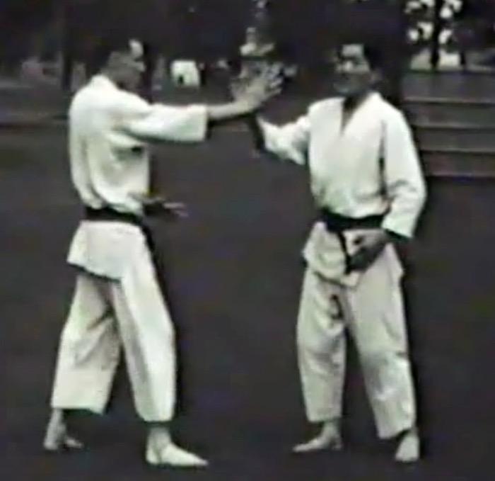 Jack Mumpower trains with Mr. Ohba in Japan (1960).