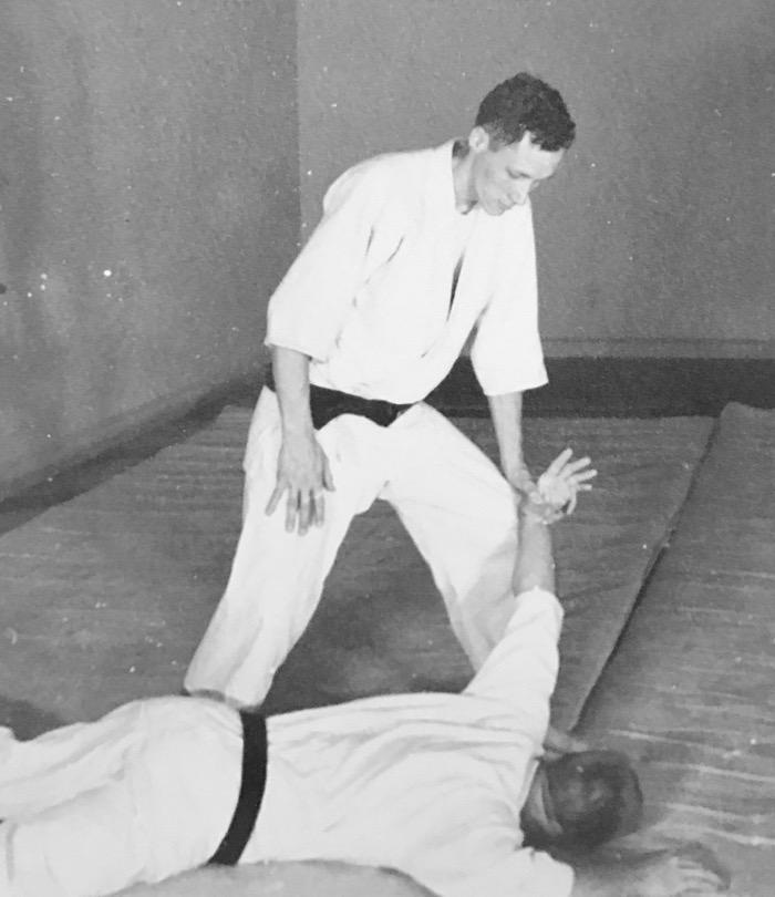 Mr. Mumpower teaches Tomiki Aikido in Charlotte, NC in 1960.
