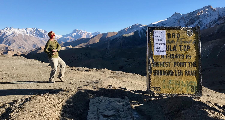 Fotu La Pass, Ladakh (13,479 ft.)