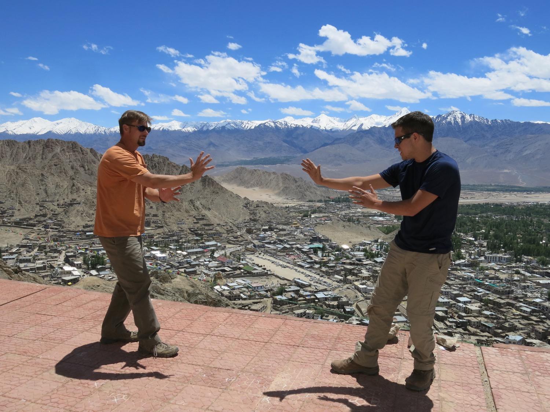 Namgyal Tsemo, Ladakh (12,182 ft.)