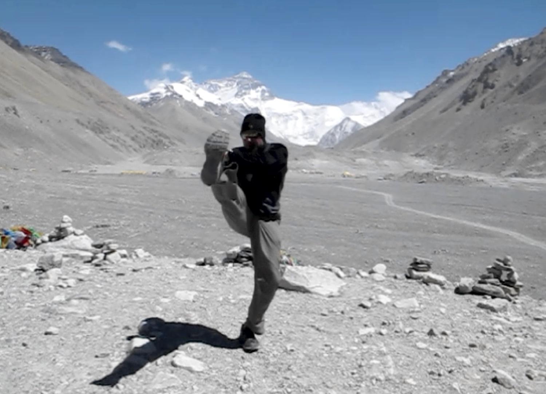 Everest Base Camp, Tibet (17,060 ft.)