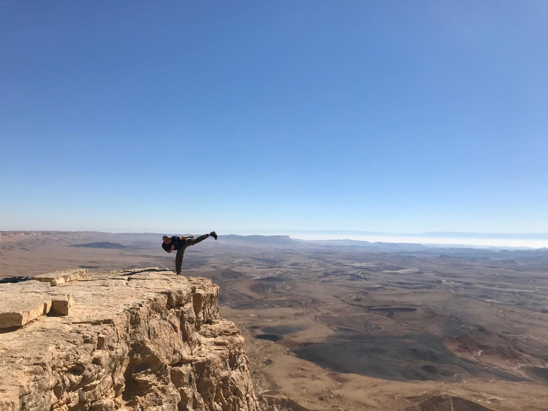 Mizpeh Ramon Crater, Israel (Sensei Boyd)