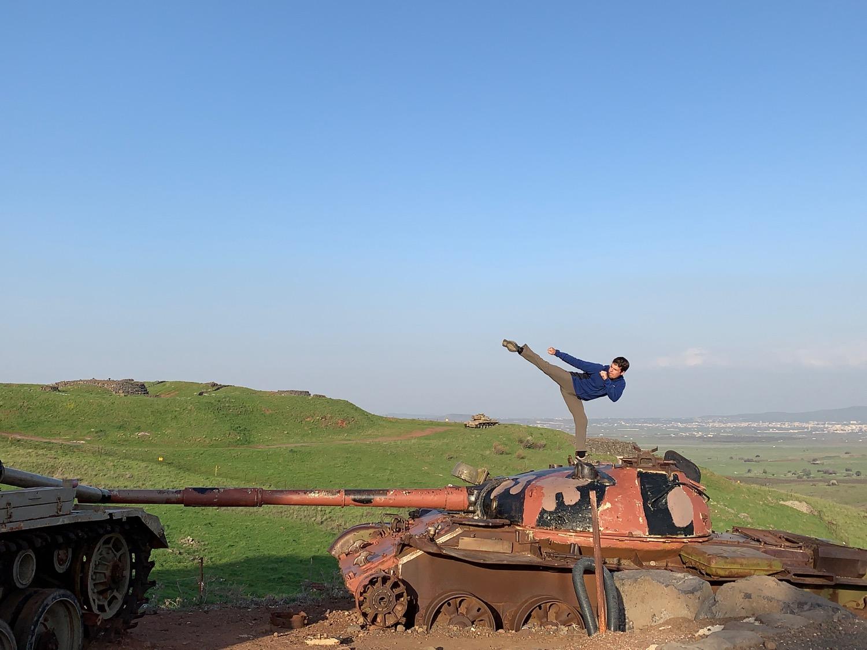 Syrian Tank, Ramat Golan, Israel (Sensei Trent)