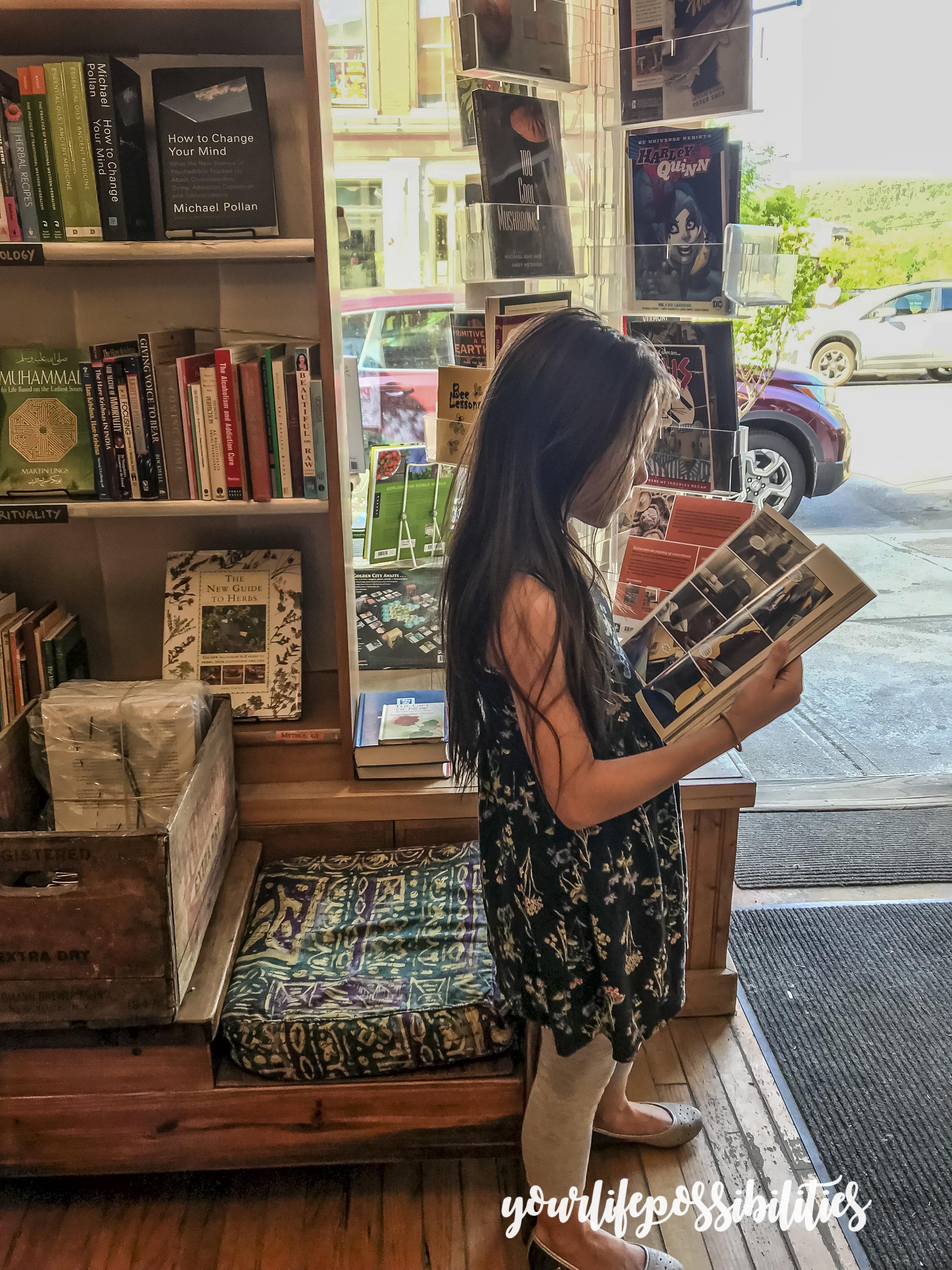 The Book Garden  @ downtown Montpelier.