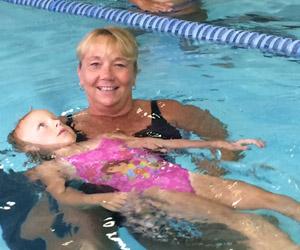 Aquatics Director Melanie Horkey