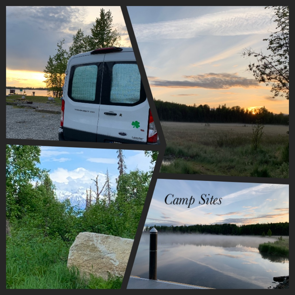 These are some of the views from the places I've camped the last two weeks. I'm loving van life.