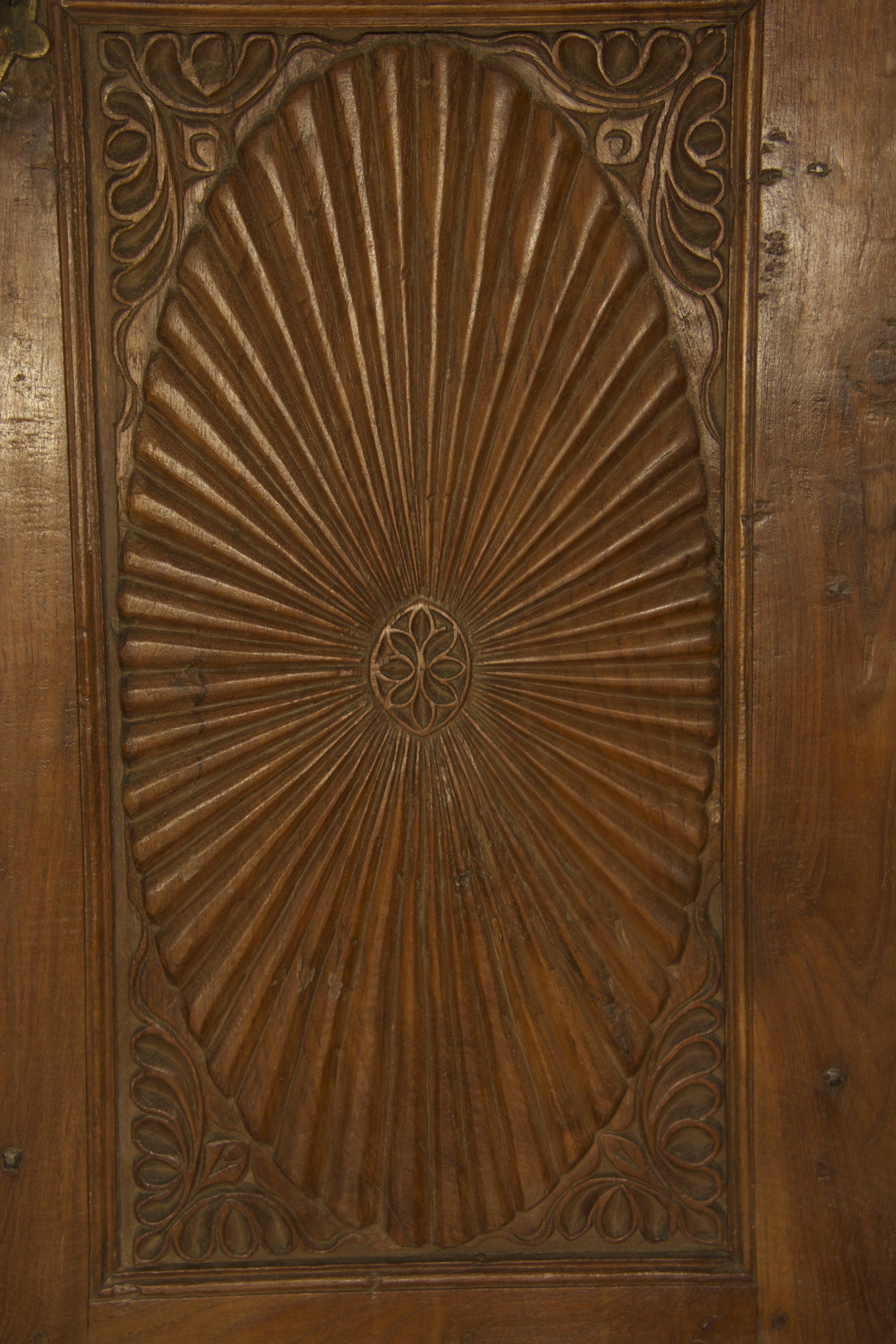 Door with Glass Panels