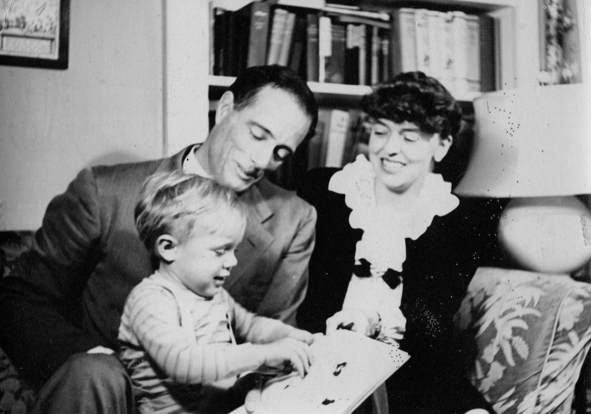 John Avery and Margaret Marable Lomax and John Marable Lomax (John Lomax III)