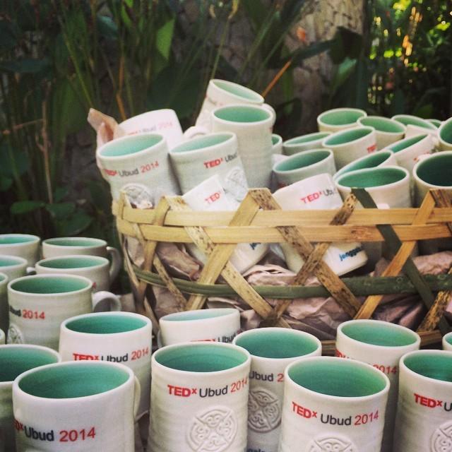 We have #TEDxUbud mugs! Keep TEDxUbud paper free this year.