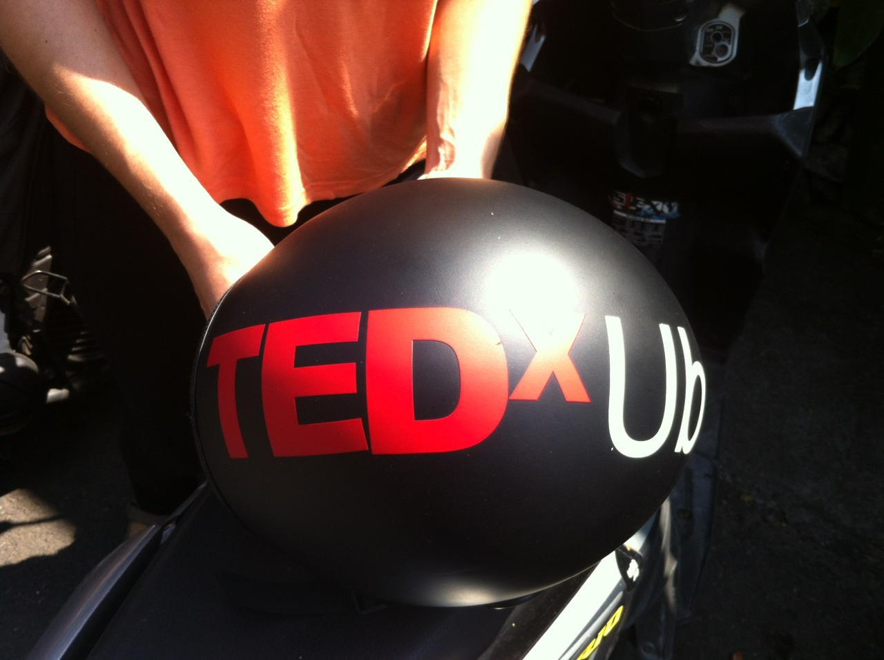 TEDxUbud super fan.