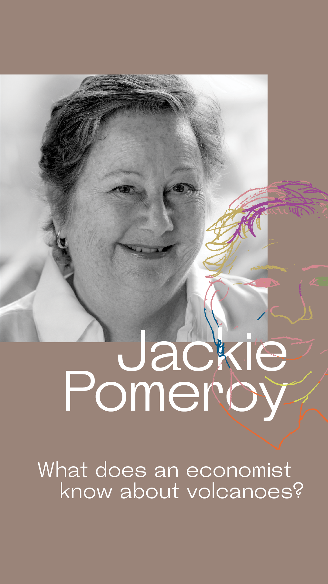 Jackie Pomeroy - Jackie Pomeroy was an applied microeconomist specializing in international trade when she arrived in Jakarta in 1990 with two suitcases and a one-year contract to work for the Indonesian Ministry of Trade. She worked there for six years (outlasting three Ministers), became a domestic trade specialist, and then went to work for the World Bank. She survived the Asian Financial Crisis, tanks on Jakarta streets during Reformasi, and the referendum in East Timor. She's still here, but has mostly traded in top levels of government for farmers, and focuses on rural livelihoods around the region. She has been learning a LOT about volcanoes since Gunung Agung started erupting in her backyard in September 2017.