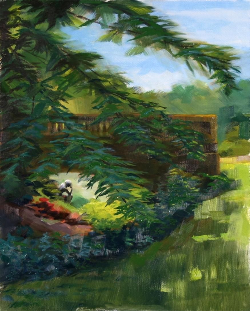 behind the ravine garden - 8
