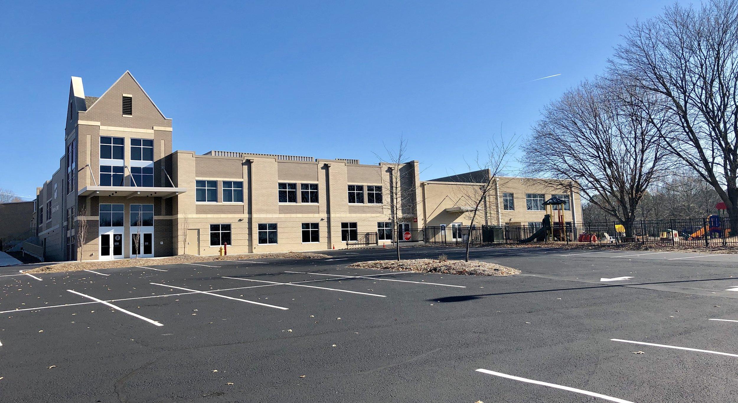 New Education Wing & Pre-School
