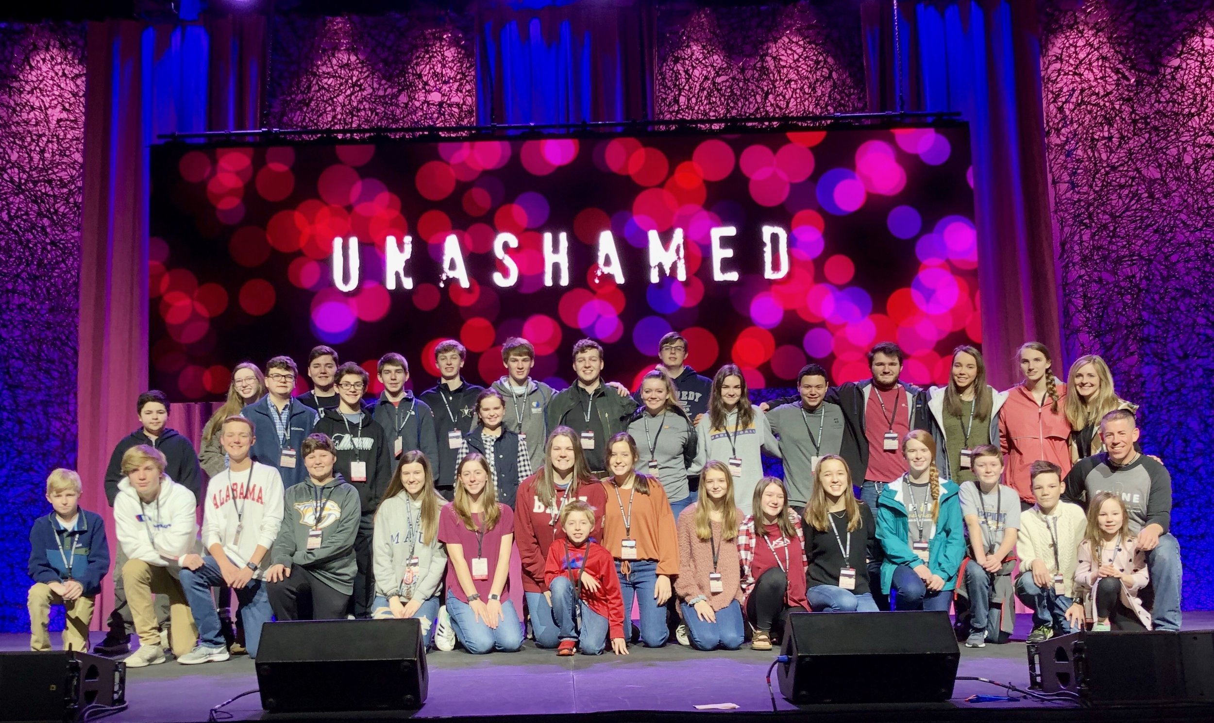 Awesome weekend at Challenge Youth Conference, we are stronger together because of what the Lord does within us and through us! #AMEN