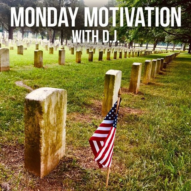 MONDAY MOTIVATION: Happy Memorial Day! As we make plans to be with family and friends this holiday, let's not forget the day is meant to remember those who gave everything for our country (that means you and me). Let's also remember the ultimate sacrifice that Jesus made for us to have the hope of Heaven. Scripture: John 15:12-14. Watch this week's video at http://bit.ly/ConcordRoadChurch #MemorialDay #MemorialDay2019 #sacrifice #holiday #John15-12 #Jesus #God #Heaven #remember #love #bravery #USA #decorationday