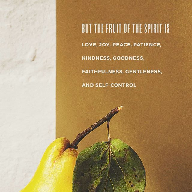 """Galatians 5:22-23: """"But the fruit of the Spirit is love, joy, peace, patience, kindness, goodness, faithfulness, gentleness, self-control; against such things there is no law."""" #fruitofSpirit #Galatians5:22 #love #joy #peace #patience #kindness #goodness #faithfulness #gentleness #self-control"""