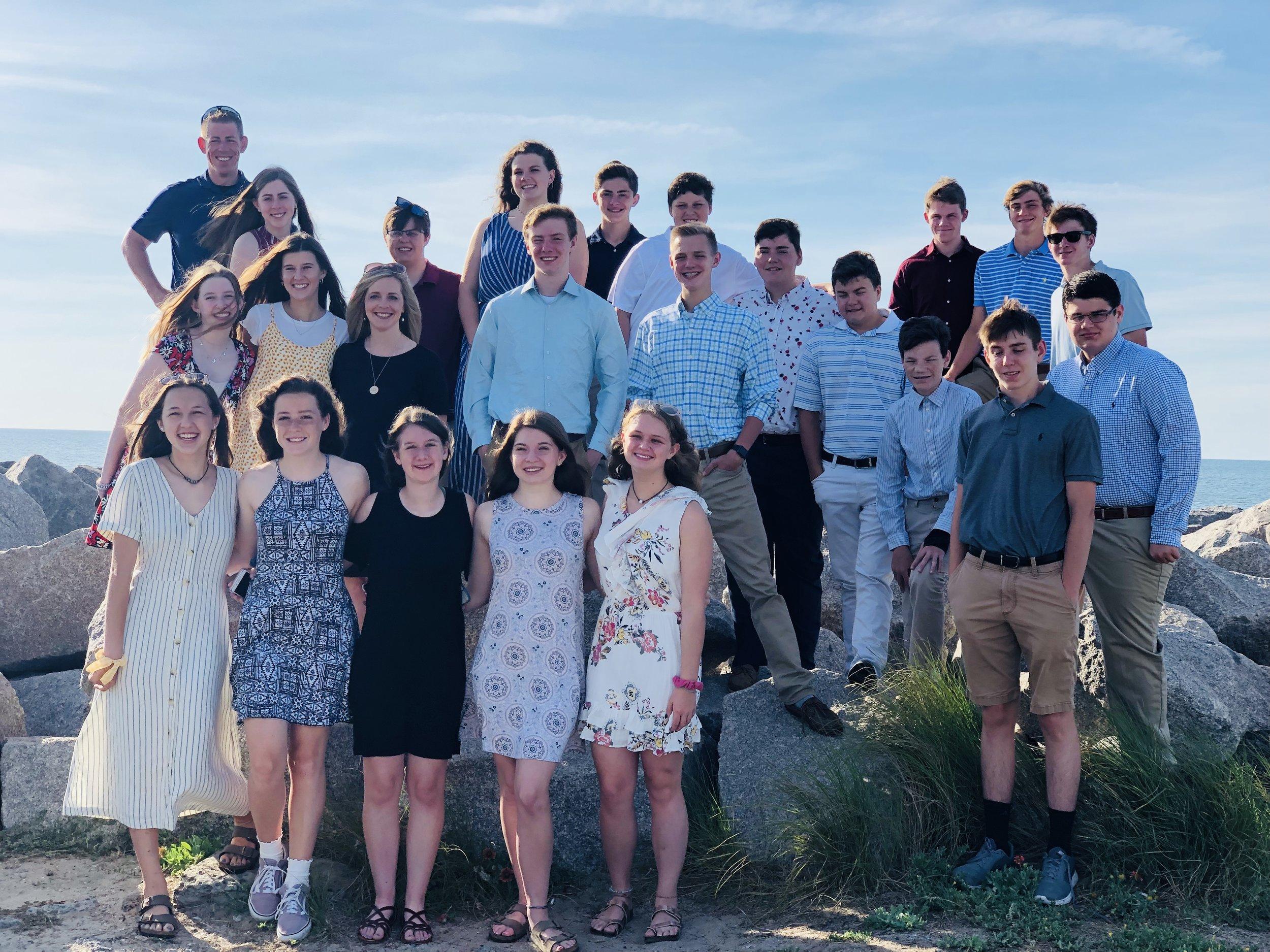 High School Summer Retreat 2019