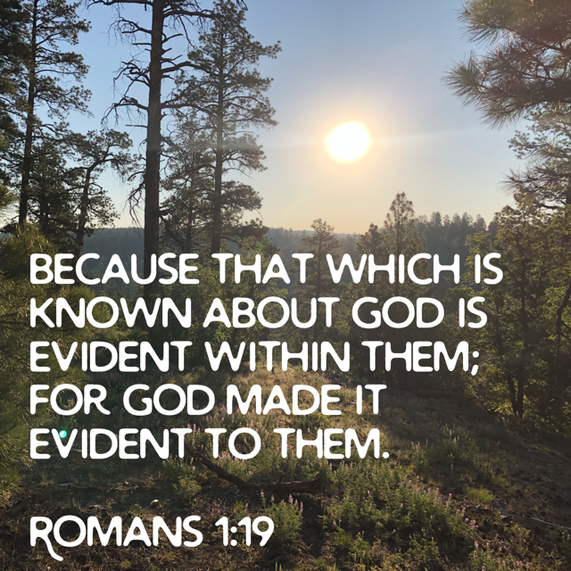 Evidence-of-God-Romans