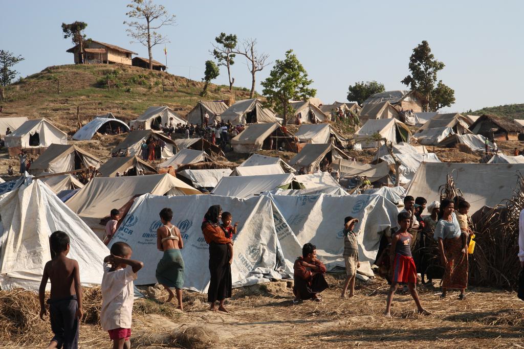 Taung Paw Camp in Rakhine State - Burma