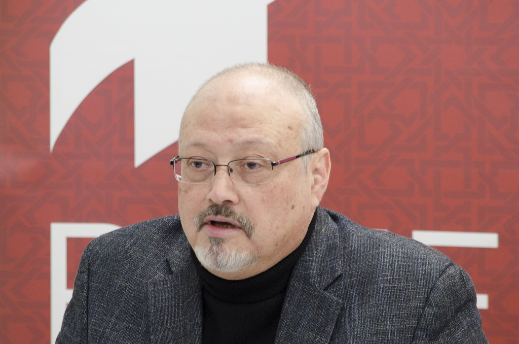 Murdered Washington Post and Saudi journalist, Jamal Khashoggi.