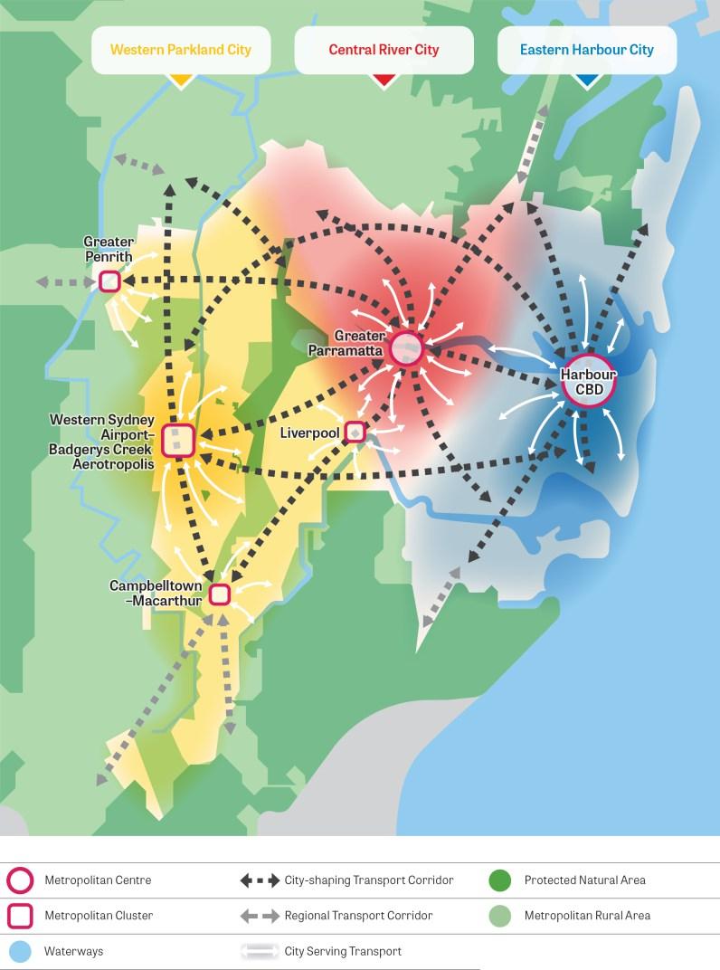 An Overview of the Future  Sydney Metropolitan Region