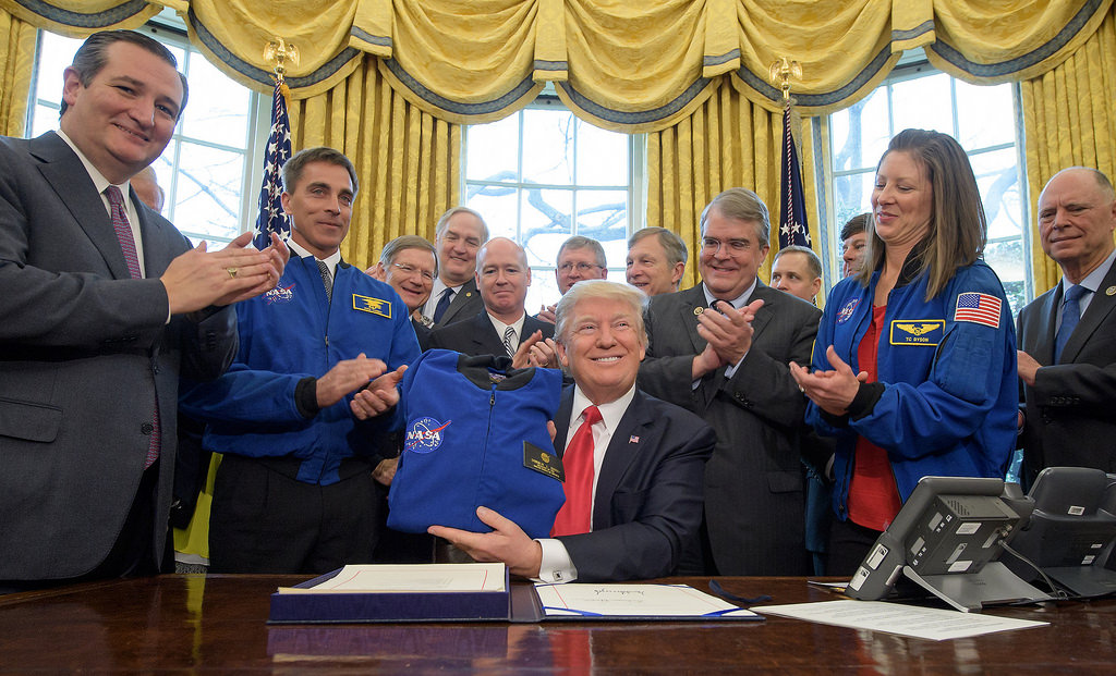 President Trump has signed the NASA Transition Authorization Act of 2017