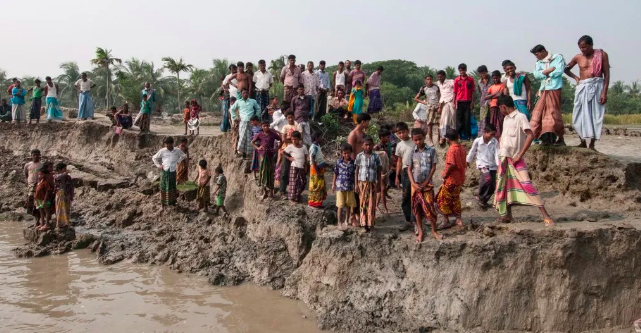 Climate Refugees is Bangladesh