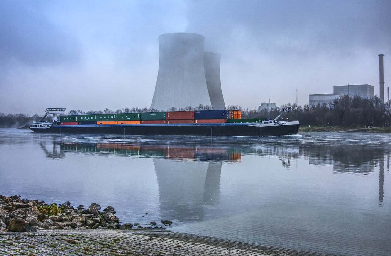 Nuclear Plant Cooling Tower