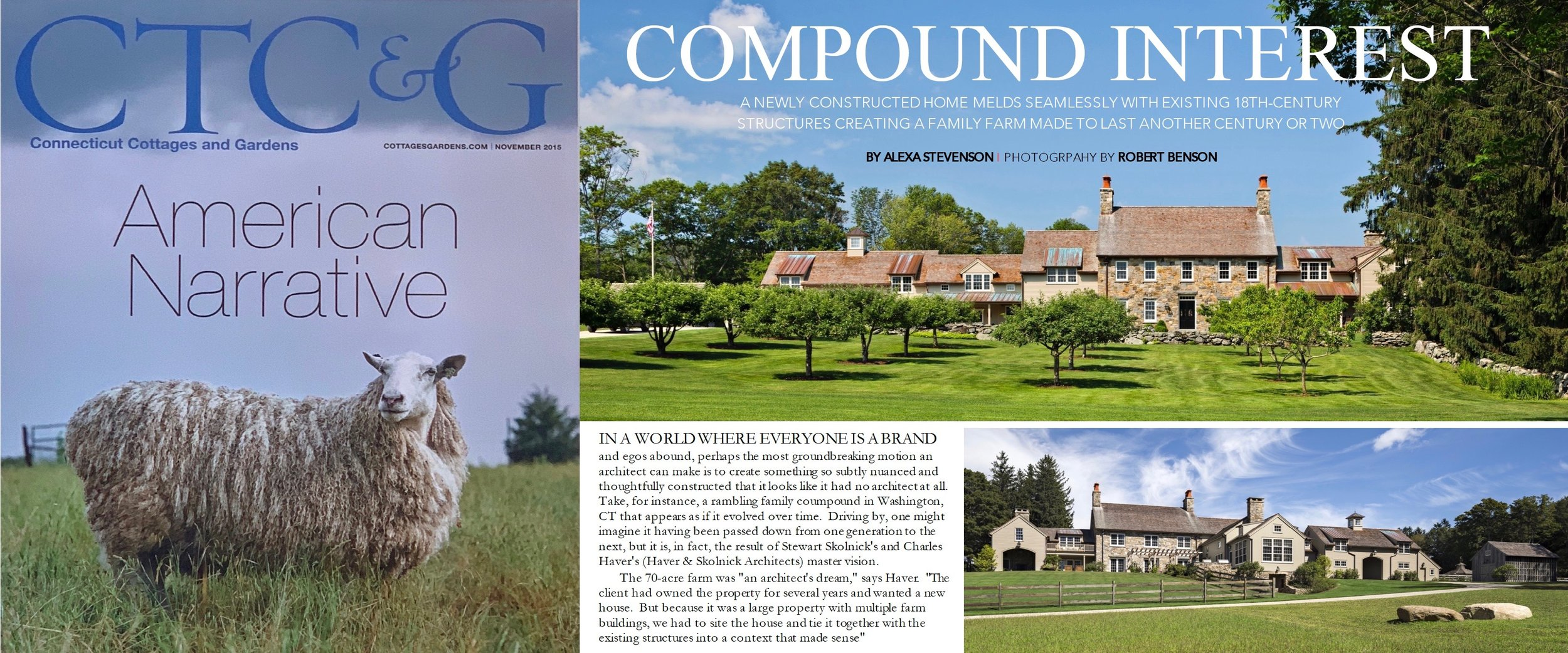 - Stone Farmhouse as featured in CONNECTICUT COTTAGES & GARDENS. Click on image for more.