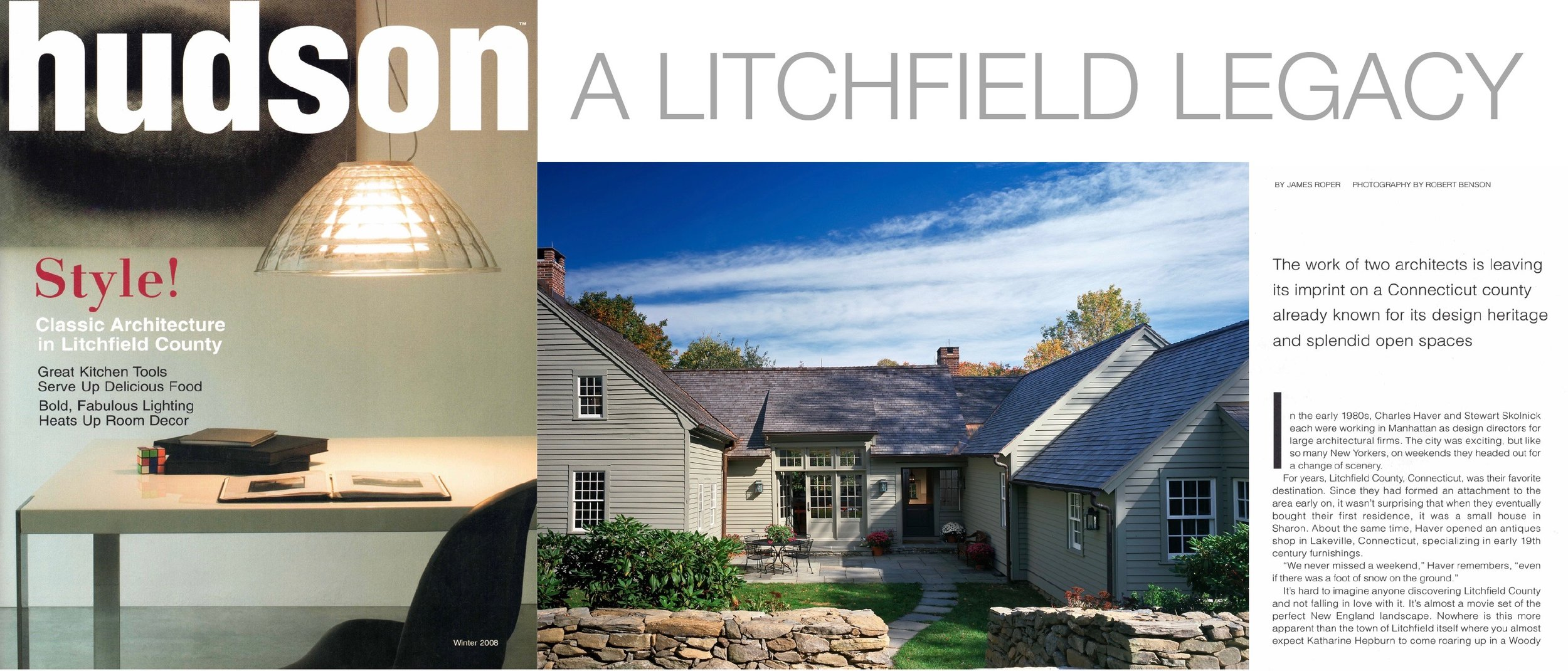 - The work of Haver & Skolnick Architects as featured in HUDSON. Click on image for more.