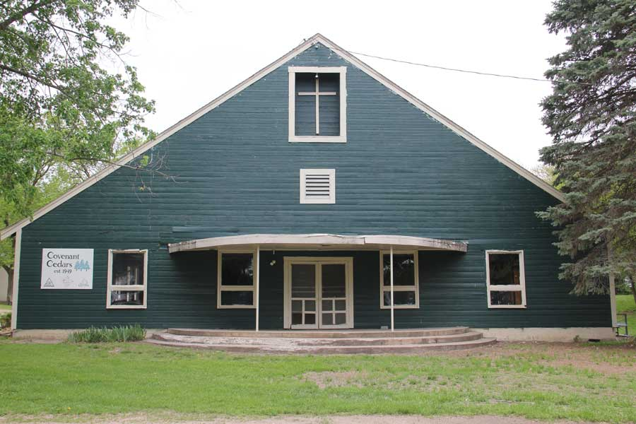 The Rec Hall at Camp Covenant Cedars, where I spent much of my youth hating myself.