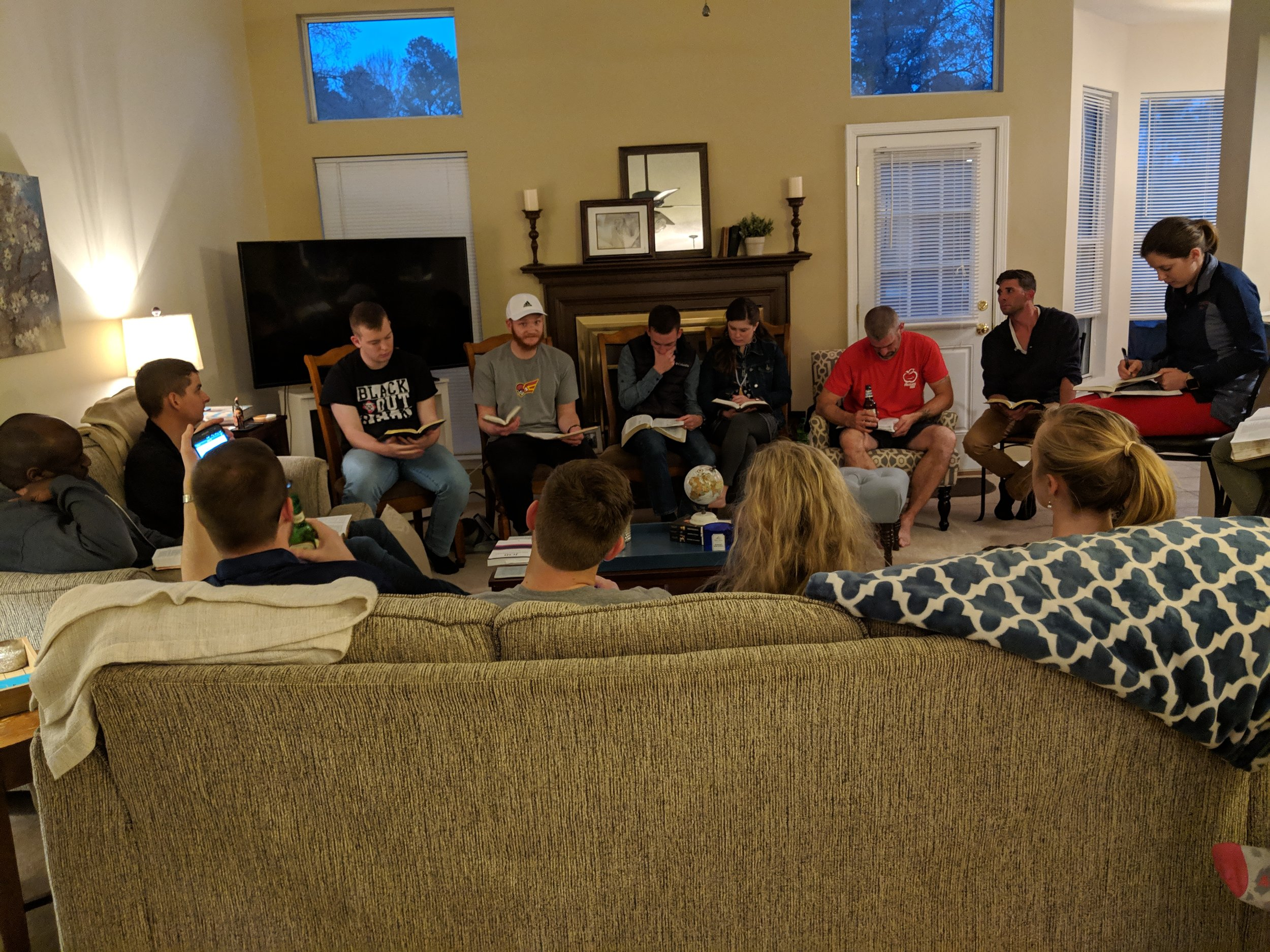 Young Adult Small Group - Every Monday Night
