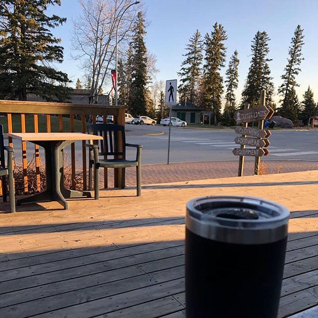 May long weekend is here! Hours// Fri/Sat/Sun/Mon/ 7AM-8PM  #waskesiucoffeeshop  #evrgreenforlife  #waskesiu