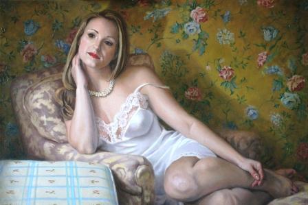 """""""Patterns"""" (Oil), Matt Ellrod"""