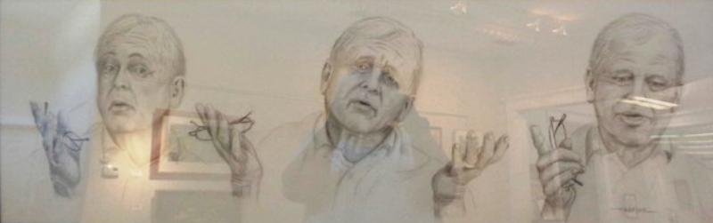 """""""The Storyteller"""" (Pencil), Fred M. Niell"""