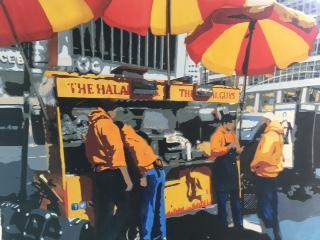 """Street Food"" (Watercolor), Kathy Simon-McDonald"