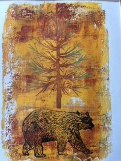 Bear in the Woods by Gina Stark