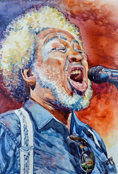 """Singing the Blues"" by Donna Morrison"