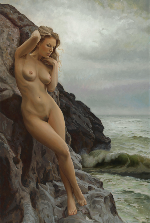 """Seaside"" by Matt Ellrod (oil)"